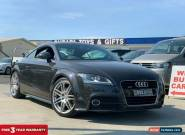 2011 Audi TT 8J Coupe 2dr S tronic 6sp quattro 2.0T [MY11] Oolong Grey A Coupe for Sale